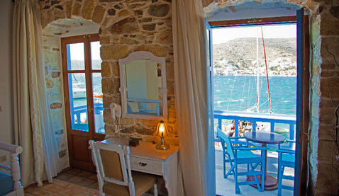 THE LUXURY SUITE IN THE HARBOUR OF KATAPOLA